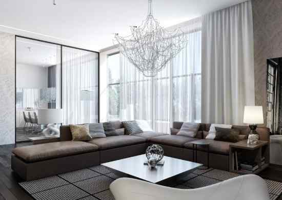 Contemporary living room curtains embellishinghome nice