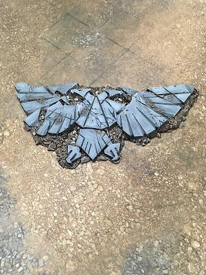40K Fallen Imperial Eagle Terrain