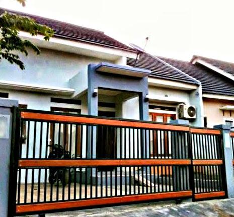 keren! 18 model pagar rumah minimalis modern terbaru
