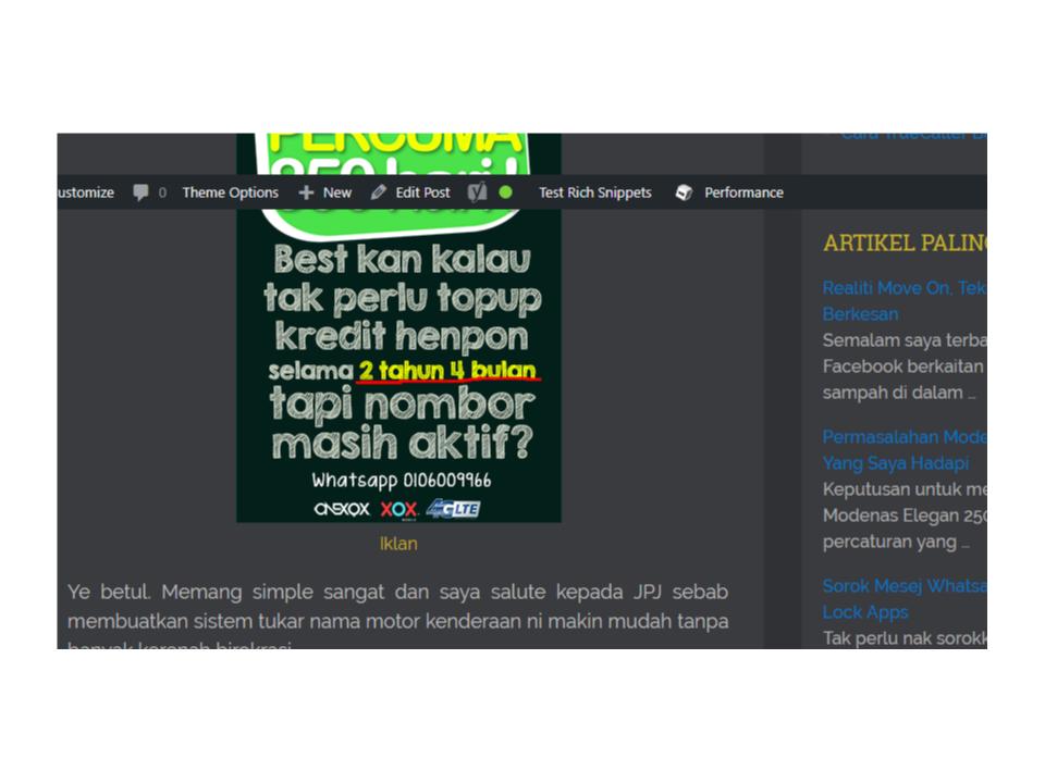Manfaatkan Trafik Blog Korang guna Display Ads Buatan Sendiri 5