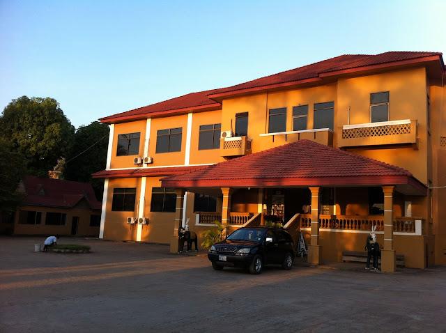 Santepheap Hotel in Kratie, Cambodia