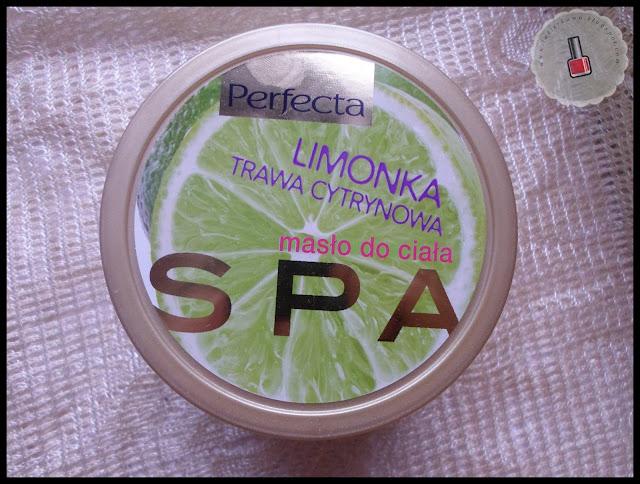 masło do ciała PERFECTA SPA - limonka i trawa cytrynowa - recenzja