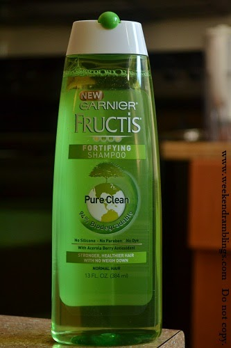Weekend Ramblings Garnier Fructis Pure Clean Fortifying