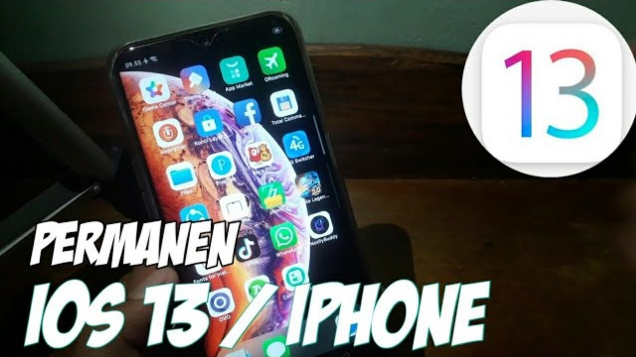 Cara Pasang Tema IOS iPhone 13 di HP OPPO Permanen