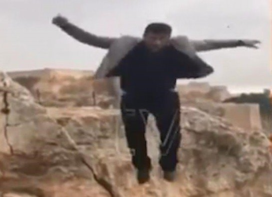 Father of eight falls to his death while posing on top of a cliff on his birthday (Video)