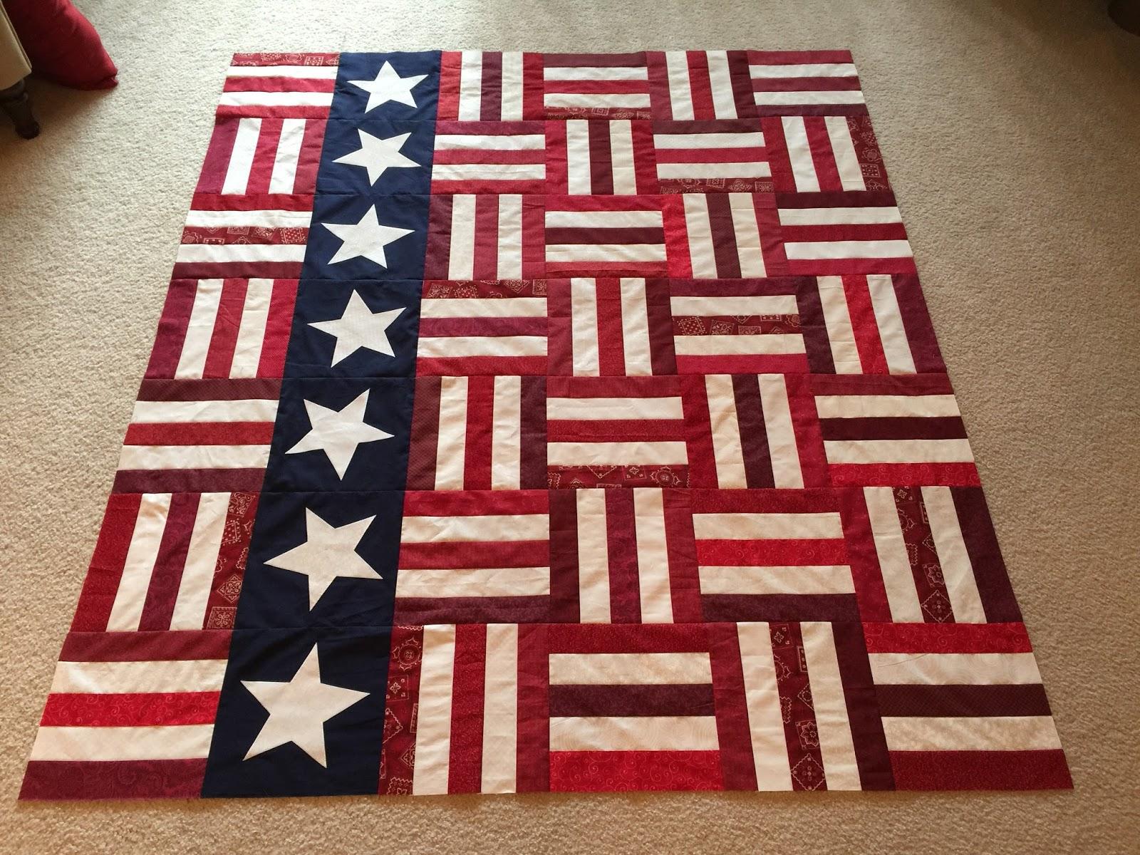 Suzy s Quilting Room: QOV - Stars and Stripes Pattern