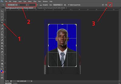 Cara Mengganti Baju Pas Foto Dengan Jas di Photoshop 24