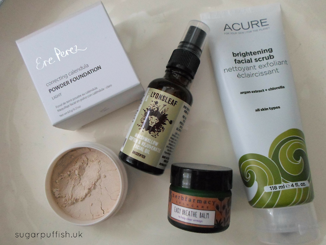 Natural Skincare from Love Lula: My September Choices - Acure Organics, Ere Perez, Herbfarmacy, Lyonsleaf