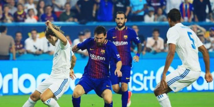 Barcelona Berhasil Menangkan El Clasico Miami