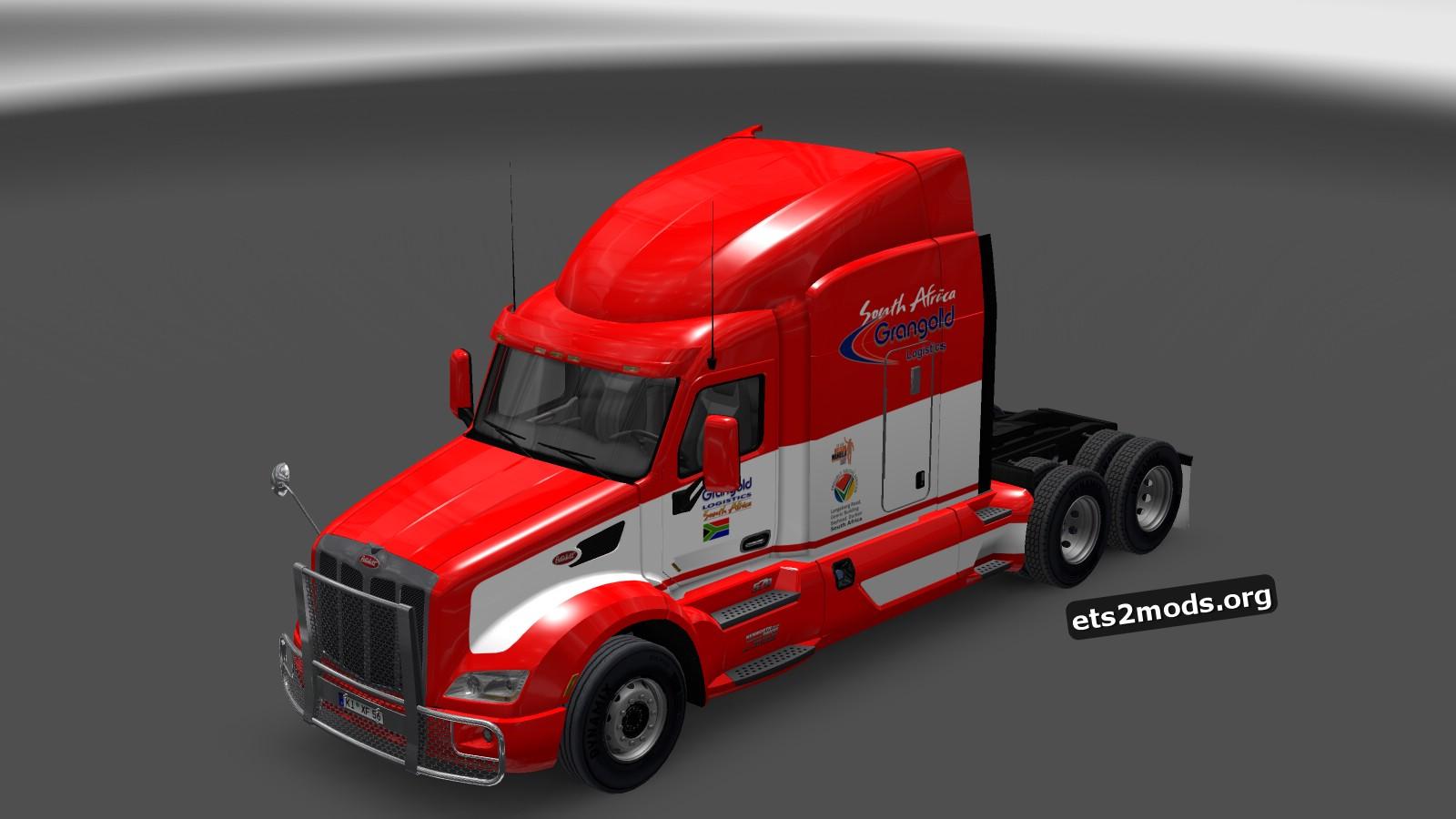 Grangold Logistics Skin for Peterbilt 579