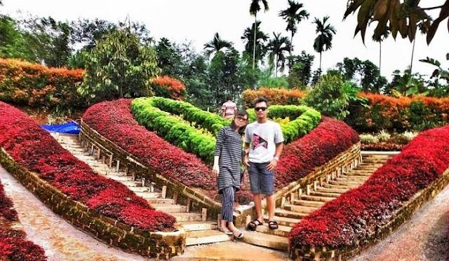 Destinasi Wisata Medan - The Le Hu Garden