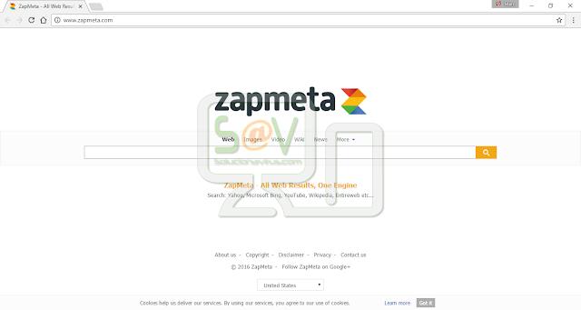 Zapmeta.com (Hijacker)