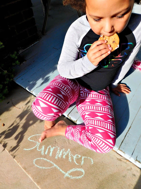 Summer tastes sweet with cookies and ice cream sandwich