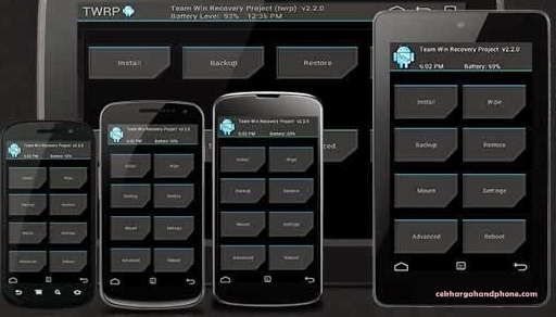 Cara Instal CWM Dan TWRP Recovery Di Smartphone