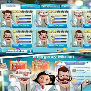 لعبة الضحك Sim Hospital
