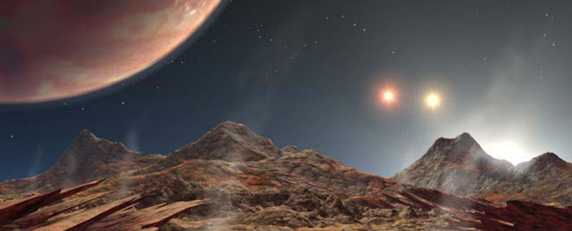 Astronomers Presently Found a Stable Planet in a Triple-star System