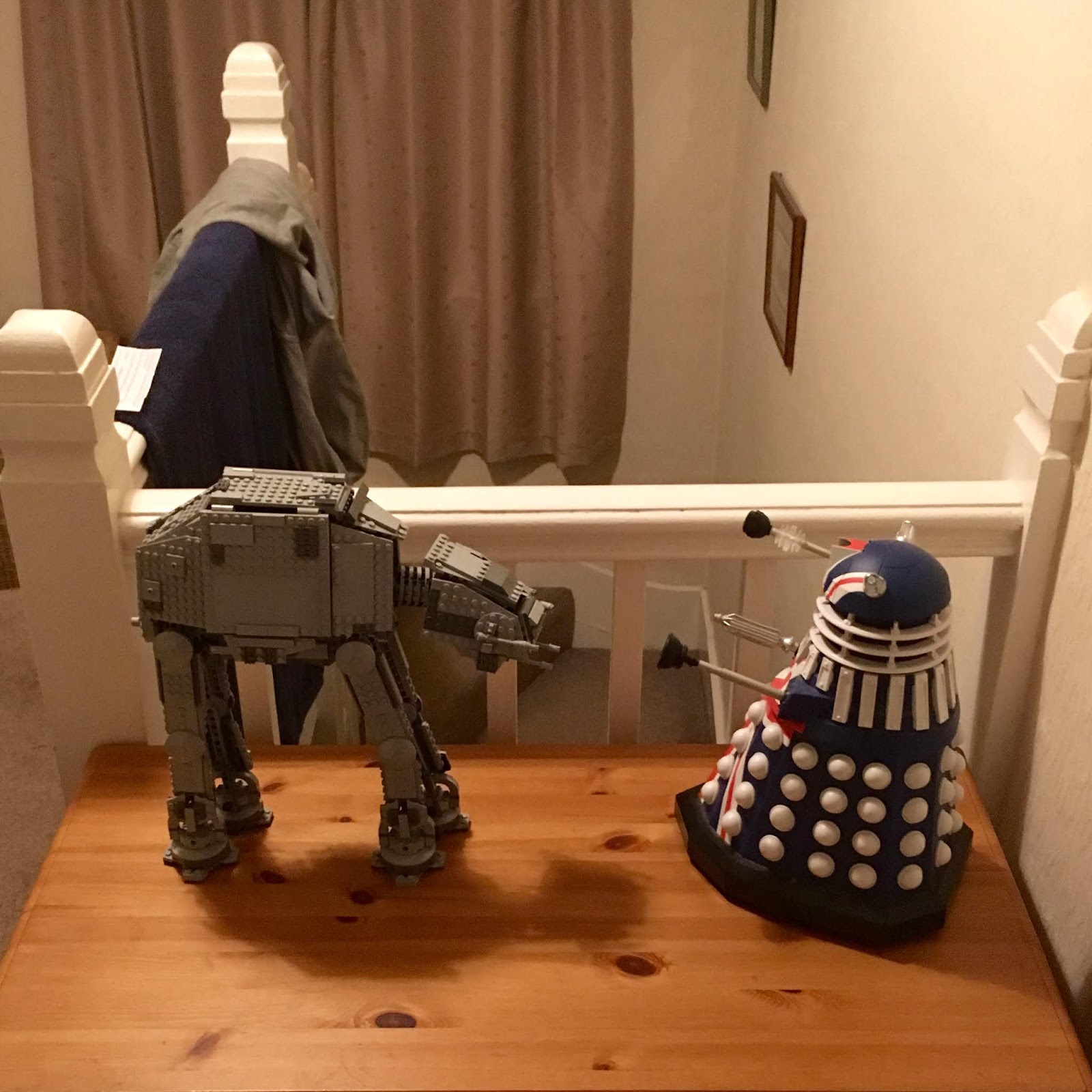 Derek the Dalek and Stars Wars Lego