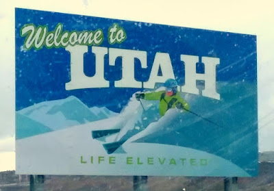 Welcome to Utah - State Sign