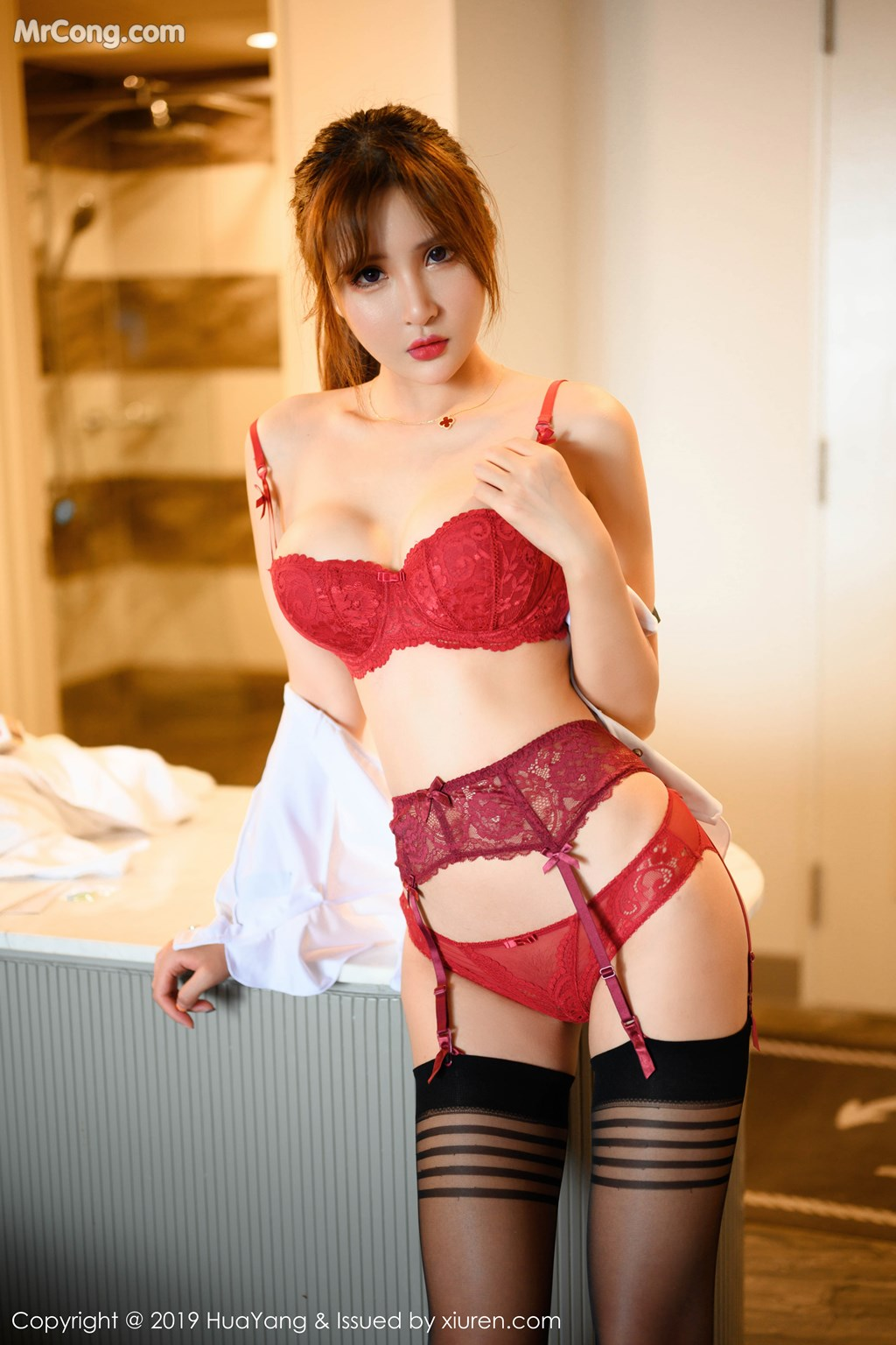 Image HuaYang-2019-06-13-Vol.148-Emily-MrCong.com-003 in post HuaYang 2019-06-13 Vol.148: Emily顾奈奈酱 (52 ảnh)