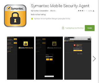 Symatec mobile security untuk android