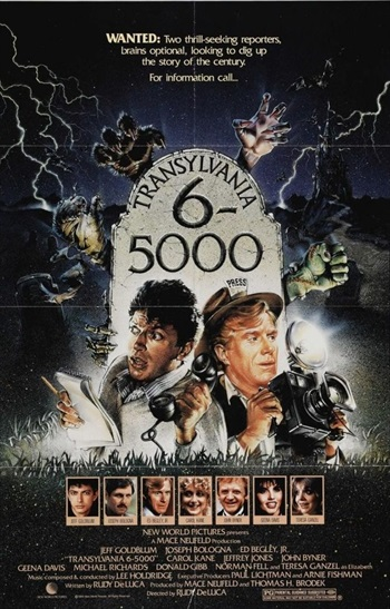 Transylvania 6-5000 (1985) UNCUT Dual Audio Hindi Movie Download