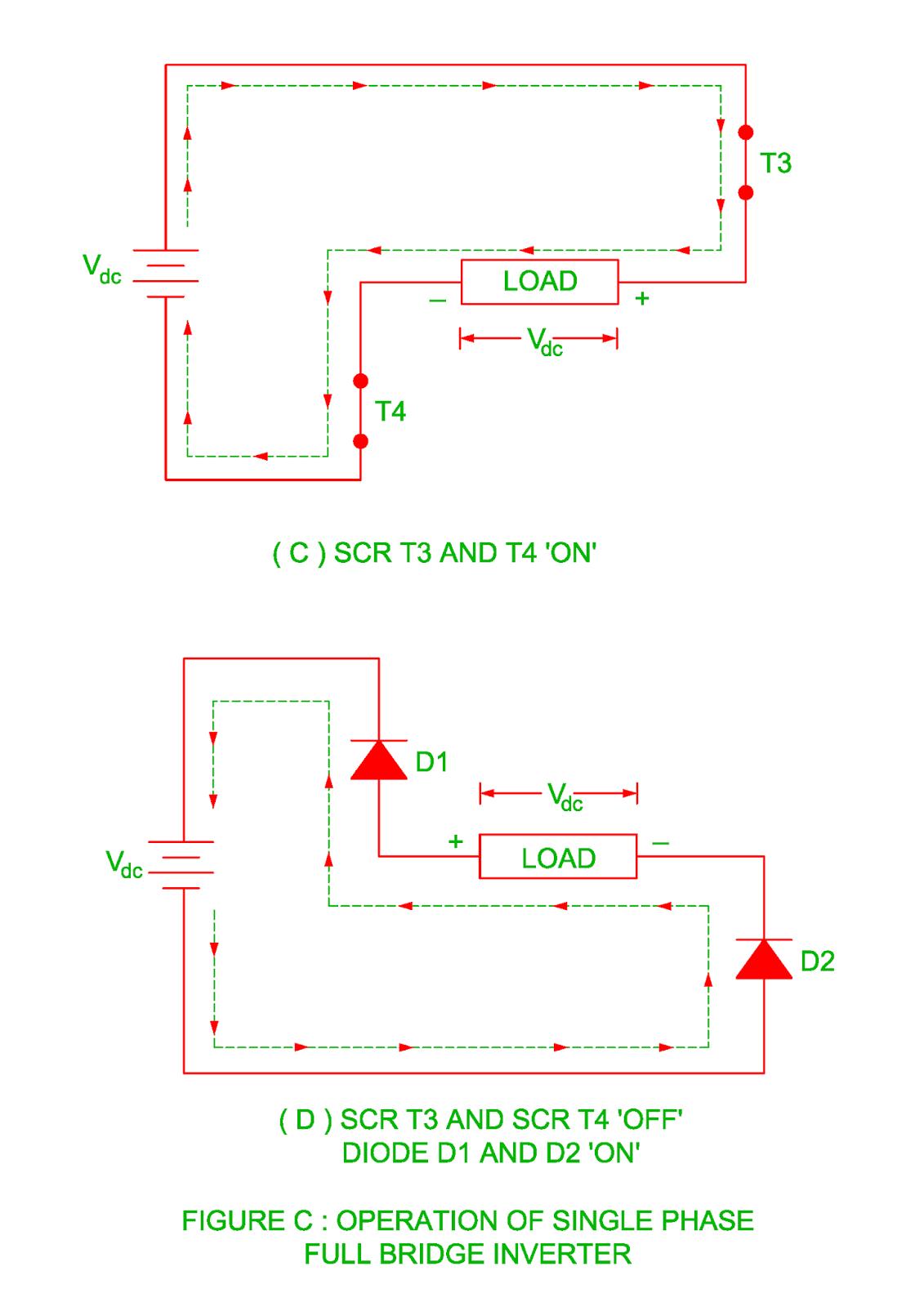 Single Phase Full Bridge Inverter Electrical Revolution Fullwave Rectifier Circuit Working Of