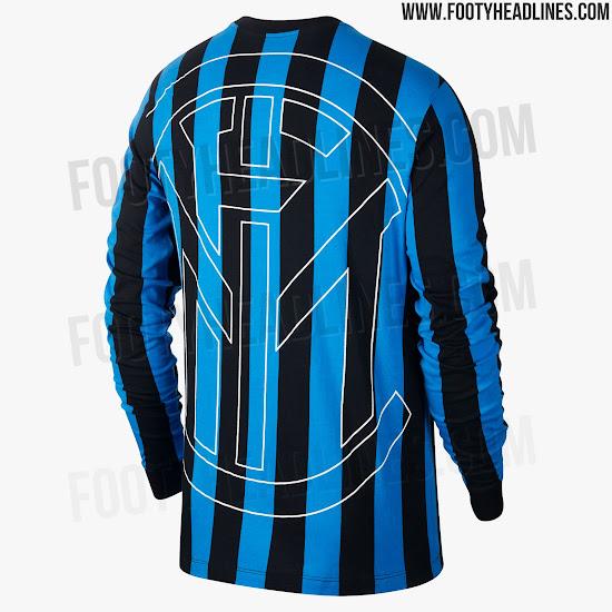 bfed569dafe5b1 Class. Nike Inter Milan 2019 Retro Long-Sleeve Jersey Revealed ...