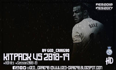 PES 2017 Kitpack v5 HD Season 2018/2019 by Geo_Craig90