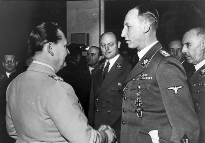 12 January 1941 worldwartwo.filminspector.com Reinhard Heydrich Hermann Goering