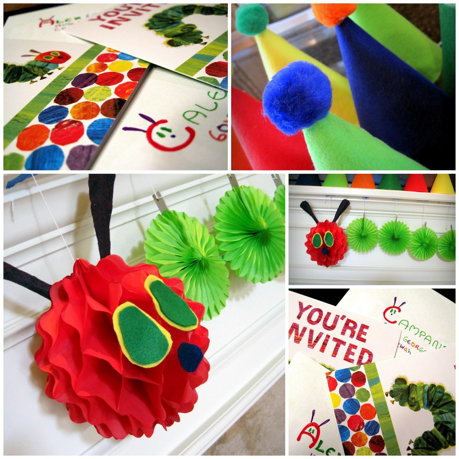 Made By Mamita: Very Hungry Caterpillar 1st Birthday