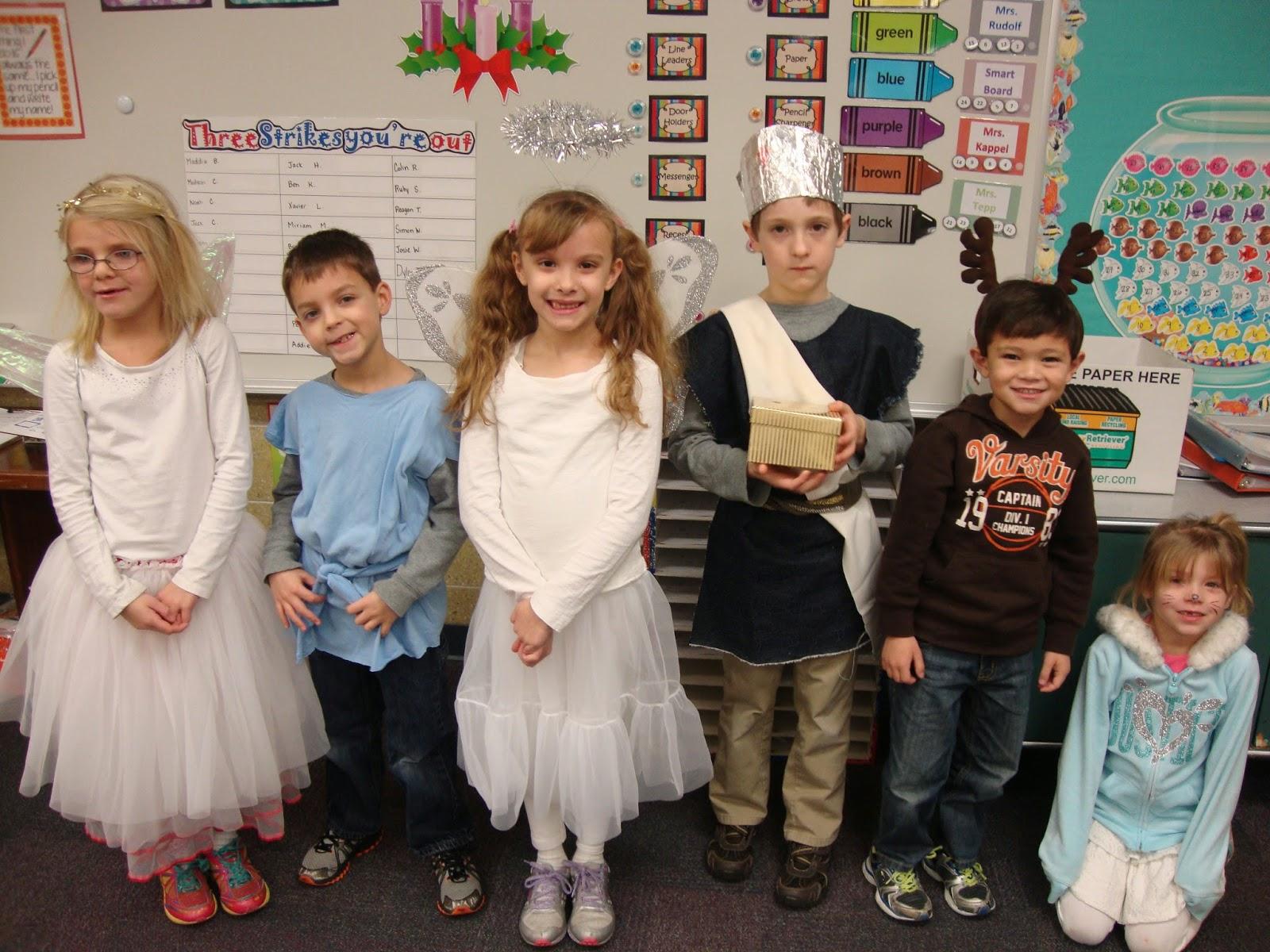 Mrs  Kappel: Nativity Character Dress Up Day