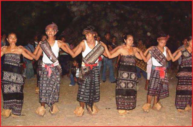 gambar upacara adat pajore donahu ngabui ntt