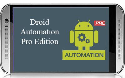 Droid Automation Pro Edition v3.3 النسخة المدفوعة مجانا