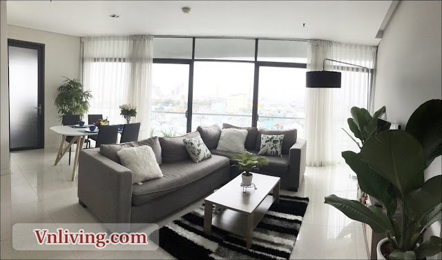 City Garden apartment for rent 2 bedrooms brandnew furnished in block A