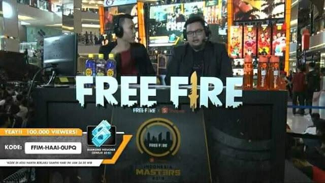 Kode Redeem FF Terbaru Maret 2019 Grand Final Free Fire