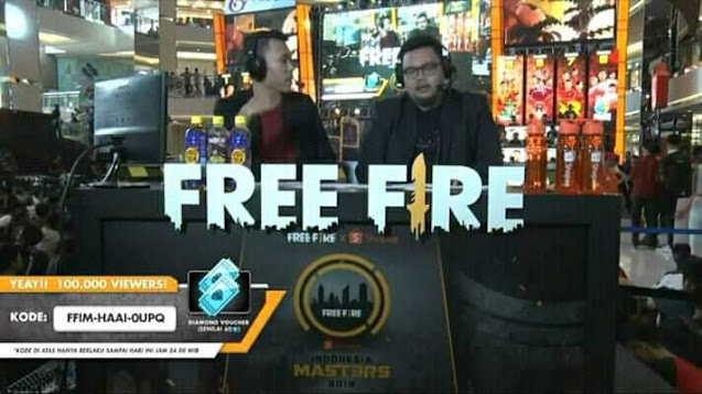 Kode Redeem FF Terbaru Maret 2019 Grand Final Free Fire Shopee Indonesia Masters