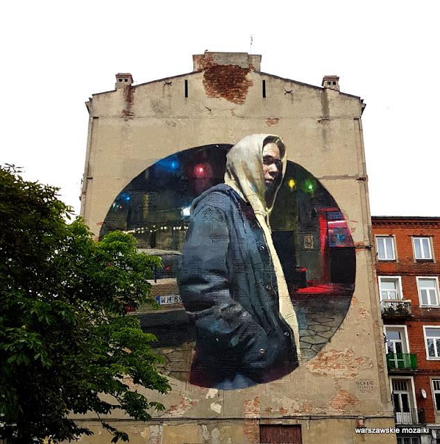 Warszawa Warsaw Praga Północ  mural graffiti