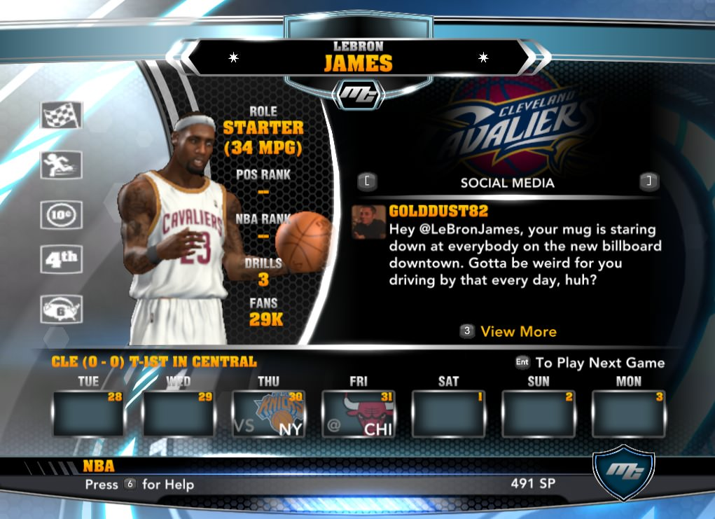nba 2k14 LeBron James - Cavs mycareer patch download hoopsvilla