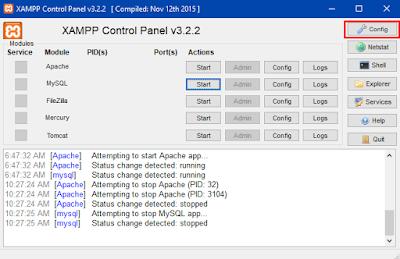 Cara Agar Xampp Autostart Saat Komputer Dinyalakan