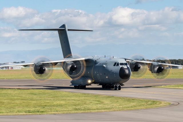 NEW ZEALAND LOOKS A400 TO REPLACE C130 FLEET