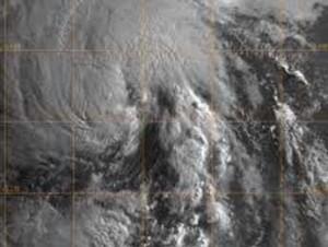 Se forma depresión tropical número cuatro de temporada ciclónica