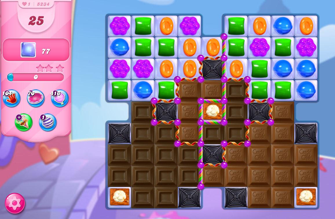 Candy Crush Saga level 5234