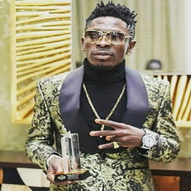 Shatta Wale wins Best African Act at NEA awards 2016