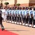 प्रधानमन्त्री पुष्पकमल दाहाललाई भारतमा राजकीय सम्मान, मोदीले गरे स्वागत