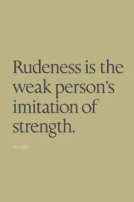 Rudeness quote