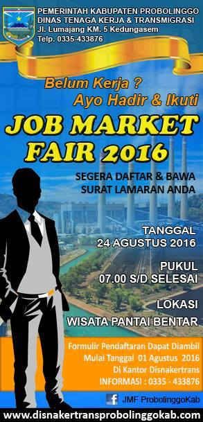 Job fair Probolinggo 2016