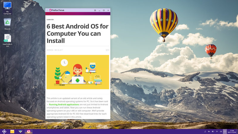 Openthos for PC - Android Marshmallow Review and Guides