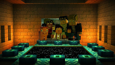 Minecraft: Story Mode screenshot 1