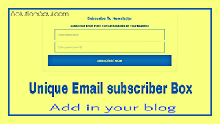 Add-email-Subscriber-box-in-your-blog