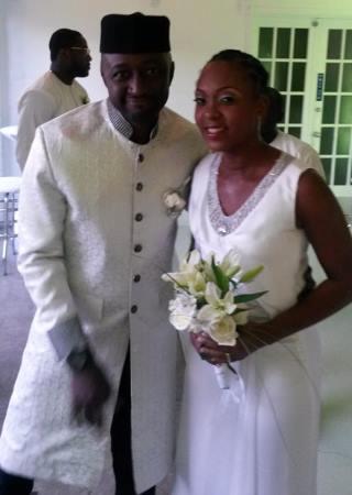 Katung Aduwak, and his wife,Raven Taylor,